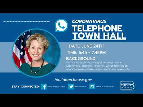 Coronavirus Telephone Town Hall 06.24.2020