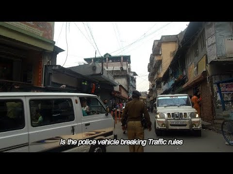 A Government vehicle Breaking traffic rules?? Daily observations 8