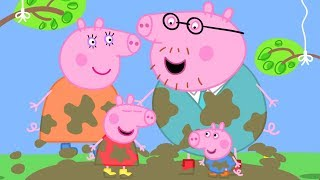 Peppa Pig English Episodes - Meet Peppa Pig's Family Peppa Pig Official