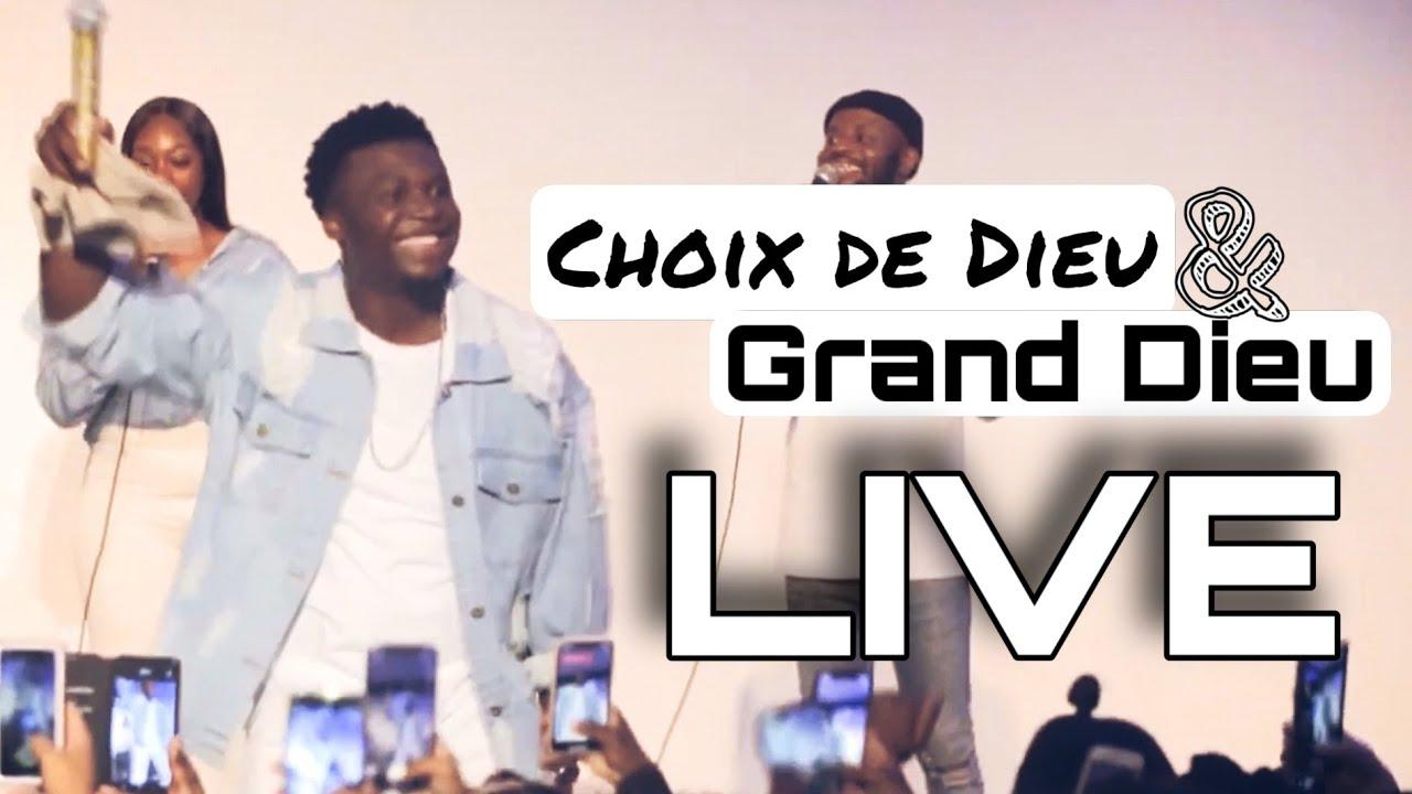 Jonathan C. Gambela - Choix de Dieu / Grand Dieu (Live Paris)