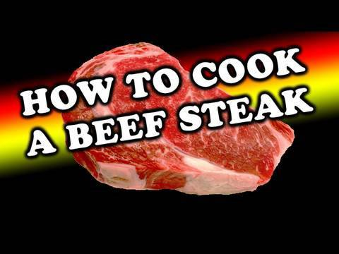 how to cook beef steak youtube