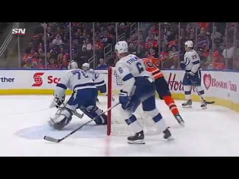 Connor McDavid's four-goal performance against Tampa Bay Lightning