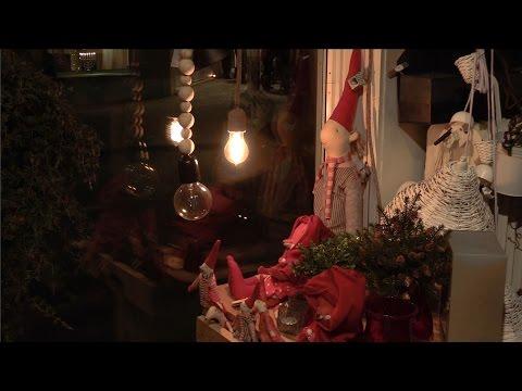 Härlig julstämning på Älvsbyns skyltsöndag (Eng sub)