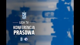 Konferencja prasowa: Lech Poznań przed meczem z Gandzasarem