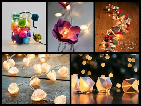 Best Diy String Lights Ideas Lighted Garland Tutorial
