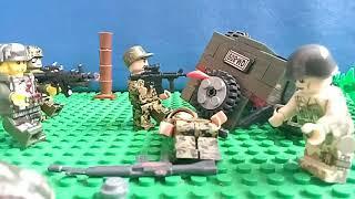 военный конфликт. лего мультфильм