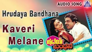 hrudaya bandhana quotkaveri melanequot audio song ambareeshsudharani akash audio