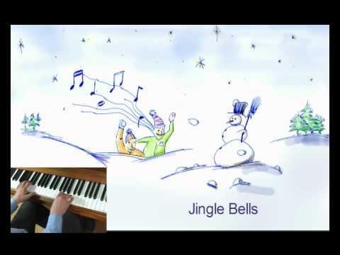 Englische Weihnachtslieder.Jingle Bells Englische Weihnachtslieder