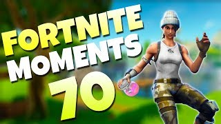 THE FUNNIEST THING TO DO WHEN KNOCKED!! | Fortnite Daily Funny and WTF Moments Ep. 70