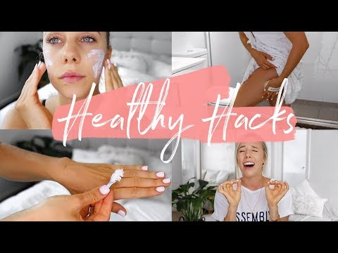 HEALTHY HACKS for the New Year! My Health & Beauty Tips/Resolutions