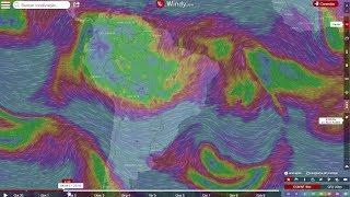 Dezembro começa com influência da Alta da Bolívia no BR
