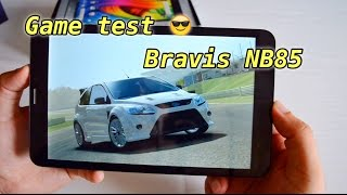 Планшет Bravis NB-85 3G - Тест Real Racing 3 , Asphalt 8