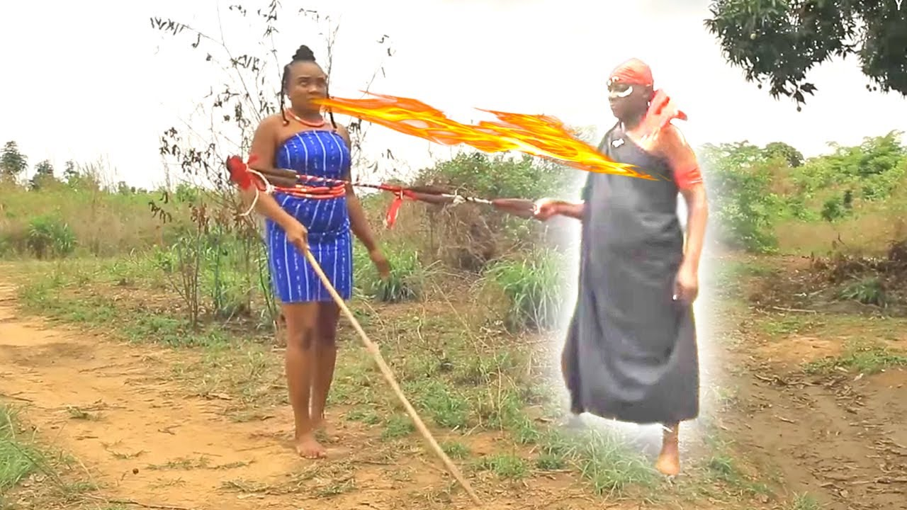 Download THE BLIND PRINCESS WITH MAGICAL POWERS TO DEFEAT THE BLACK DEMON - 2021 Latest Nigerian Movies