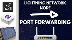 Port Forwarding / Router Configuration for Lighnting Network Node