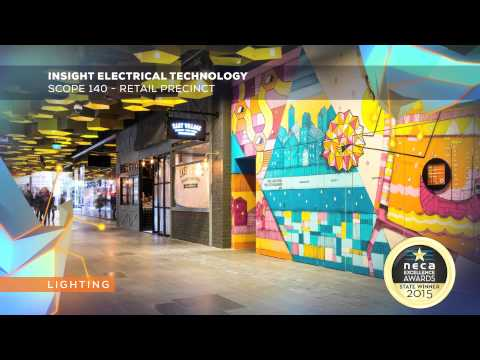 Insight Electrical Technology   Scope 140   Retail Precinct WIN