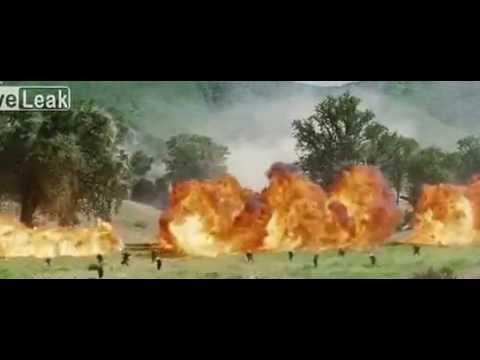 Intense War Scene - Broken Arrow! We Were Soldiers (2002)