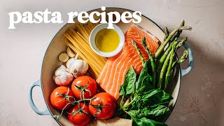 3 Simple ONE-POT Pasta Recipes! - Easy One Pot Pasta Ideas for Dinner