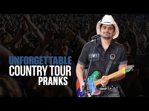 6 Unforgettable Country Tour Pranks