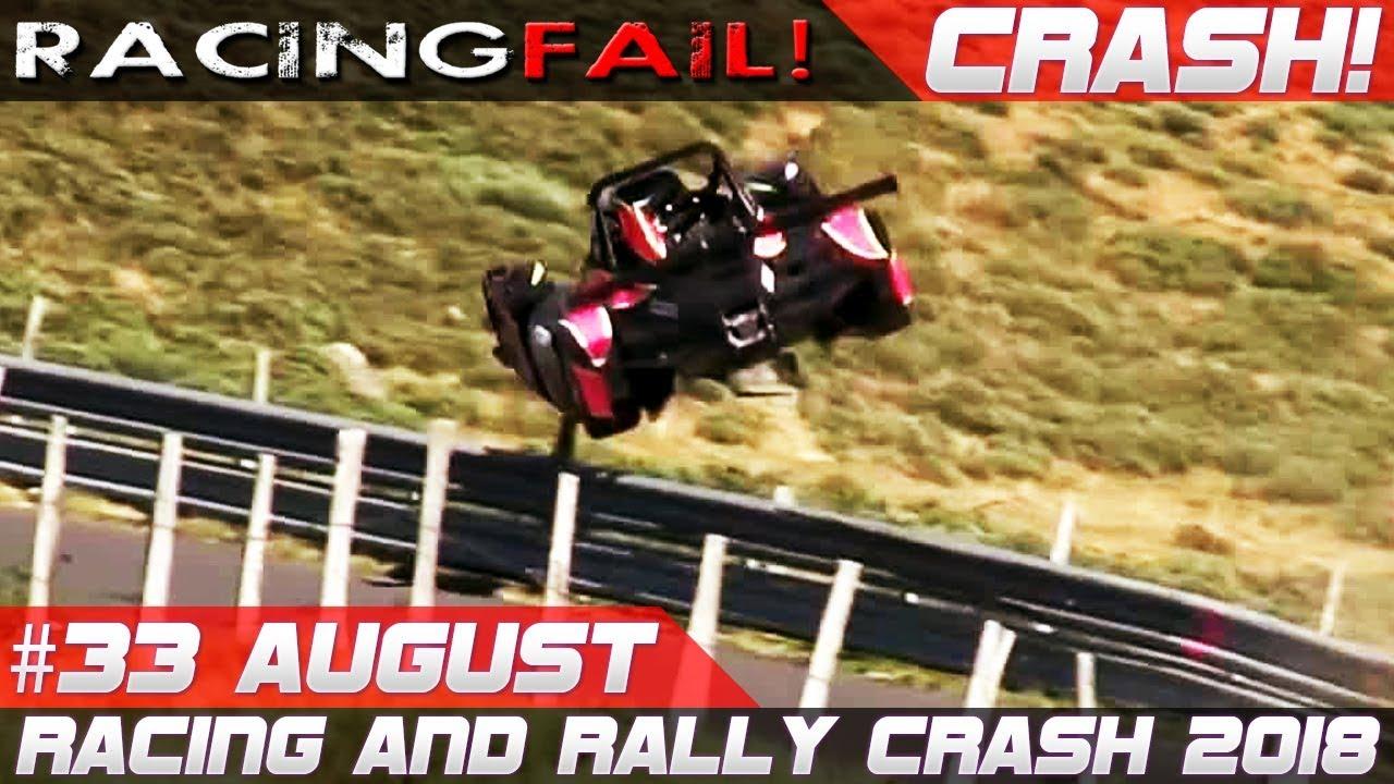 Racing And Rally Crash Compilation Week 33 August Wrc Rallye Deutschland 2018