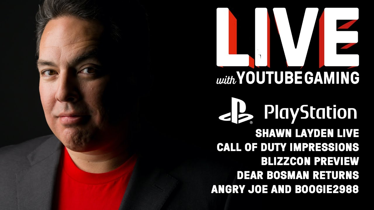 Live with YouTube Gaming Episode 6: Blizzcon, PS4 Pro, iJustine, Boogie2988