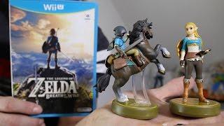 Gamestop Haul!   All Zelda: Breath Of The Wild Amiibos!
