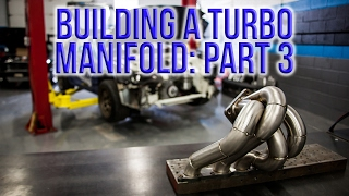 RWD Turbo CRX Build: Episode 6 - Building a Turbo Manifold: Part 3 (Turbo and Runner Mockup)