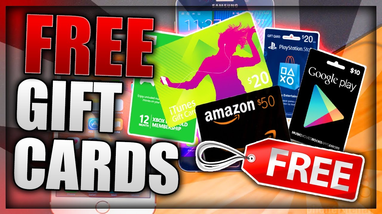 Free Gift Cards How To Get Free Gift Cards Free Amazon Paypal Steam Itunes And More