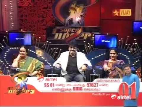 Supersinger 3 Prefinals Alka Ajith Sings with Sathyaprakash Udhaya Udhaya Song