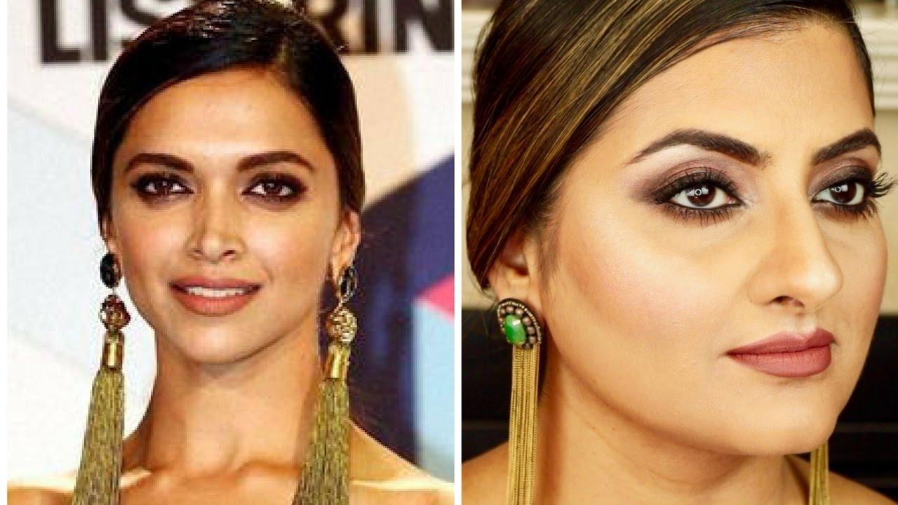 Deepika Padukone MTV EMA Inspired l Sexy Smokey Eyes and ...  Deepika Padukon...