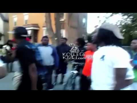 Random White Kid Turns Up With GDs To Lil JoJo's BDK (3Hunnak) Song on 069 | @kollegekidd