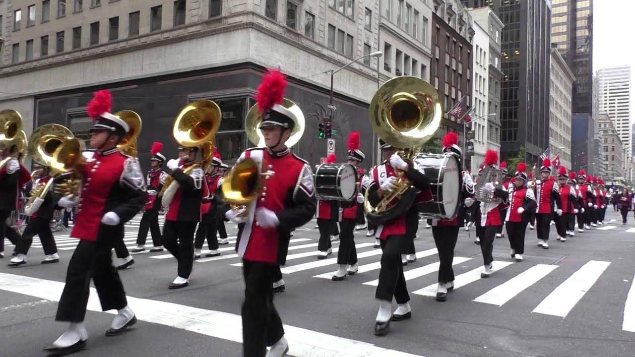 Columbus Day Parade~2014~NYC~Clifton HS Marching Band ...