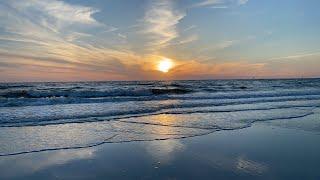 Zen sunset on the beach 🏖 024
