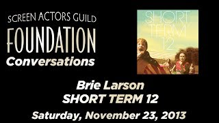 Conversations with Brie Larson of SHORT TERM 12