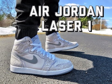 ddf8a9d2dd1 Air Jordan 1 Laser Review + On Feet (German