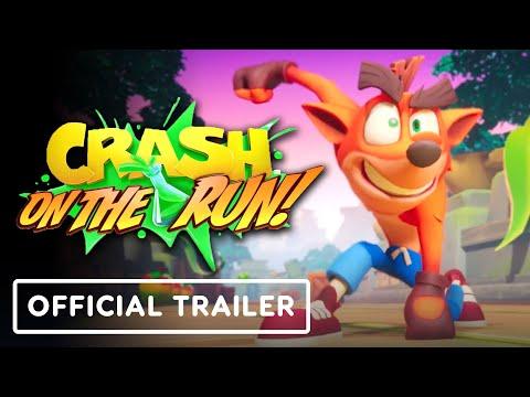 Crash Bandicoot: On the Run! - Official Announce Trailer