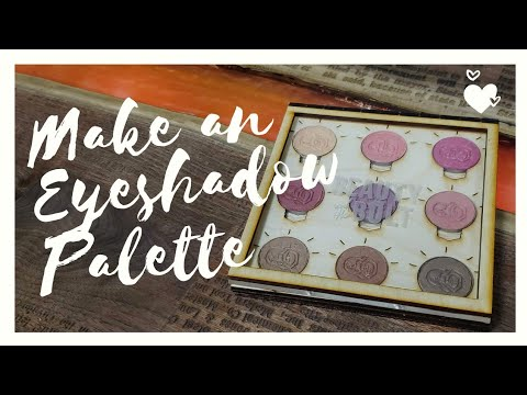 Make your own Makeup Palette with a LIVING HINGE (*and MAGNETS*)