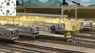<Nゲージ>東京メトロ、東武鉄道、西武鉄道、副都心線の電車 Modellbahn spur N Train Model Railroad N-Gauge 鉄道模型 【Re-Color】