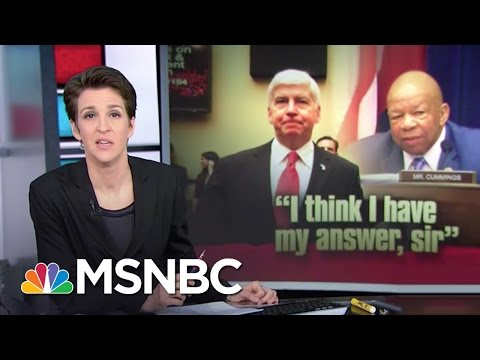 Michigan Gov. Rick Snyder Called Out In Congressional Hearing   Rachel Maddow   MSNBC