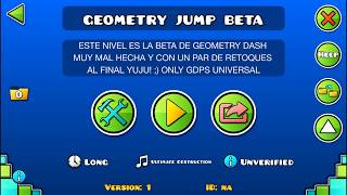 El Nivel de Geometry Jump 100% Recreado Por mi Geometry Dash 2.11