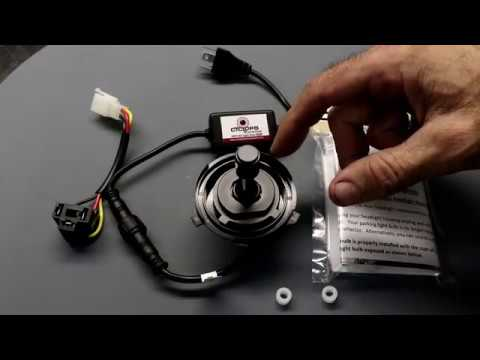 Cyclops 10 0 Ultra LED Headlight- KTM 250 TPI
