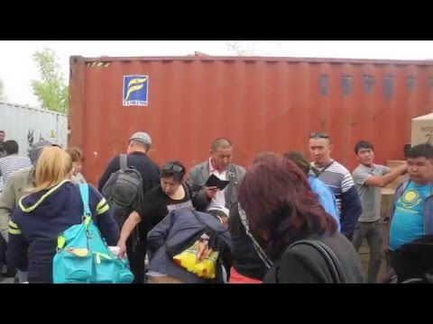 China-Kazakhstan Cross-Border Free Trade Zone at Horgos
