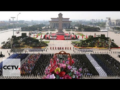 Video: Chinese leaders mark Martyrs' Day at Tiananmen Square