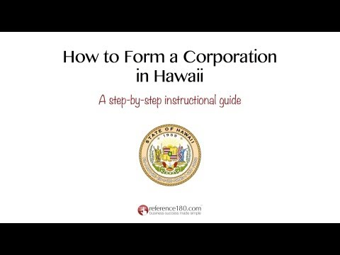 How to Incorporate in Hawaii