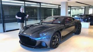 The Aston Martin DBS Superleggera in Auckland