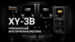 Pioneer Pro Audio - XY-3B мощная трёхполосная акустическая система