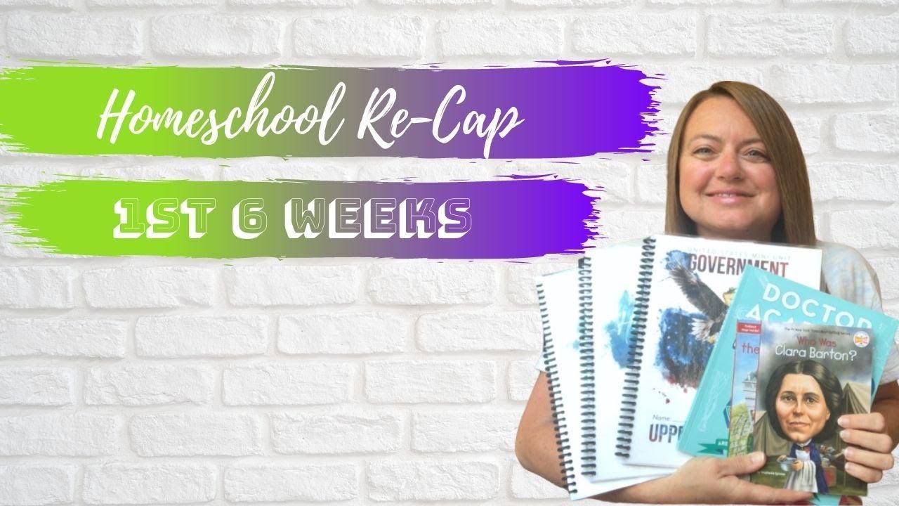 Homeschool Re-cap | 1st 6 Weeks | Gather Round Homeschool | Honest Opinion