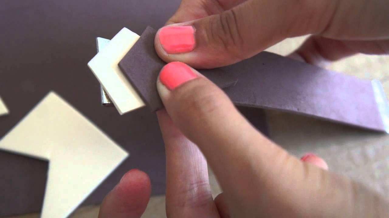 01b99527e241 Cómo hacer Pulseras fáciles - Manualidades con goma eva - YouTube
