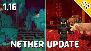 NEW BIOMES & BLOCKS | Minecraft 1.16 Nether Update (Tagalog)