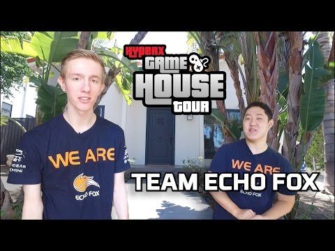 Echo Fox LoL – HyperX Gaming House & Office Tour