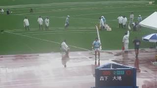投擲順> ・森下 大地(筑波大) ・鈴木 愛勇(日本大) ・大坂 将央(T...